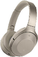Bluetooth-Kopfhörer - Sony MDR-1000X Kopfhörer Champagner