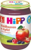 Früchte Waldbeeren in Apfel ab 6. Monat