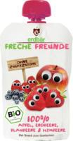 "Frucht- und Gemüsepüree ""Apfel, Erdbeere, Blaubeere und Himbeere"""