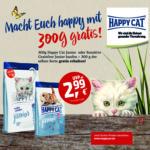 Happy Cat Junior, 300 g + 300 g gratis!