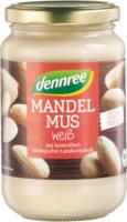 Dennree Mandelmus weiß 350g