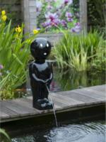 Ubbink Wasserspeier Boy II groß, schwarz