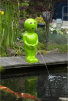 Ubbink Wasserspeier Boy IV, groß, grün