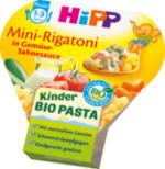 Kinderteller Kinder Bio Pasta Mini-Rigatoni in Gemüse-Sahnesauce ab 1 Jahr