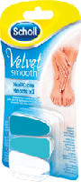 Velvet Smooth 3-Schritt Nachfüll-Aufsätze für elektrische Nagelpflege