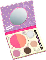 Eyeshadow b.b.s. touch up to go palette multi 01