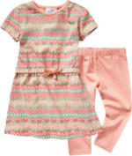 Baby-Kleid und Leggings