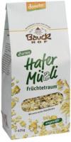 Bauckhof Hafermüzli Früchtetraum 425g Packung