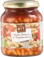 """Gemüse im Glas """"Weiße Bohnen in Tomatensauce"""""""