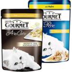 Gourmet  Perle oder A la Carte Katzen-Nassnahrung versch. Sorten, jeder 85-g-Frischebeutel