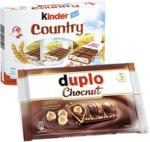 Kinder County 9er oder Duplo Chocnut jede 212/130-g-Packung