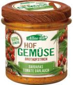 """Brotaufstrich """"Hofgemüse Barbara`s Tomate Bärlauch"""""""