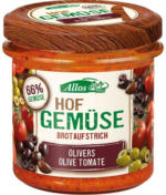 "Brotaufstrich ""Hofgemüse Oliver`s Tomate Olive"""