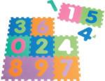 Schaumstoff-Puzzle, bestehend aus 10 je ca. 30 x 30 cm großen Puzzlestücken.