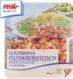 Flusskrebsfleisch ideal als Salatbeilage, ohne Konservierungsstoffe, jede 100-g-Packung