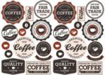 Wandsticker Coffee-Shop