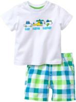 Newborn T-Shirt und Shorts