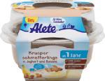 Joghurtbecher Knusperschmetterlinge in Joghurt und Banane ab 1 Jahr