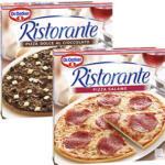 Dr. Oetker Pizza Ristorante Salame 320 g oder Dolce Al Cioccolato 300 g, gefroren, jede Packung und weitere Sorten
