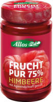 Allos Frucht Pur Himbeere 250g Glas