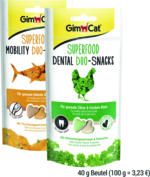 GimCat Duo-Snacks, 40 g Beutel