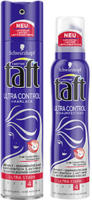 3 Wetter Taft Haarspray, Haarlack, Schaumfestiger oder Styling Gel versch. Sorten, jede 250/200/150-ml-Flasche/Tube