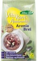 Allos Amaranth Aronia Brei Vita Korn 400g Packung