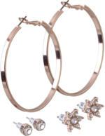 3 Paar Damen-Ohrringe
