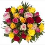 Blumenstrauß Buntes Farbenspiel