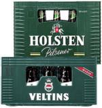 Holsten Pilsener, Alkoholfrei 20 x 0, 5 Liter oder Veltins Pils Steinie 16 x 0, 5/20 x 0, 33 Liter, jeder Kasten