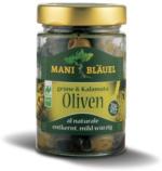 Mani-Bläuel Olivenmix al Naturale entkernt 150g Glas