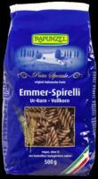 """Emmer-Nudeln """"Spirelli Vollkorn"""""""