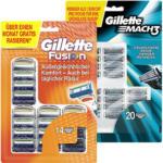 Gillette Mach3 oder Fusion  Rasierklingen jede 14er/20er-Packung