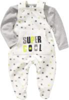 Baby-Strampler und Langarmshirt