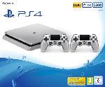 PlayStation 4 Konsolen - Sony PlayStation 4 500GB Slim Silber