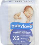 Windeln Premium extra weich Größe XS, newborn bis 3kg