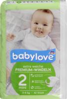 Windeln Premium extra weich Größe 2, mini 3-6kg