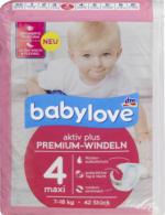 Windeln Premium aktiv plus Größe 4, maxi 7-18kg