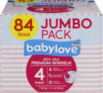 Windeln Premium aktiv plus Größe 4, maxi 7-18kg, Jumbo Pack 2x42 Stück