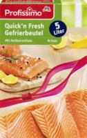 Gefrierbeutel Quick`n fresh 5L