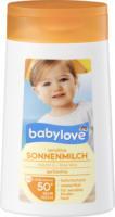 babylove Sonnenmilch Sensitiv LSF 50+