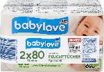 babylove Feuchttücher sensitive 2x80St