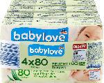 babylove Feuchttücher 4x80St