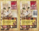BBQ Snack für Katzen, Knabber-Stäbchen mit Hähnchen