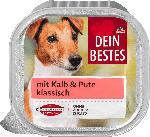 Nassfutter für Hunde mit Kalb & Pute, klassisch