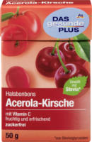 DAS gesunde PLUS Halsbonbons Acerola-Kirsche zuckerfrei