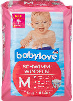 babylove Schwimm-Windeln Größe M, 7-13 kg