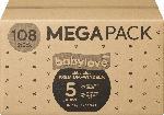 babylove Windeln Premium aktiv plus Größe 5, junior 12-25kg, Mega Pack 3x36 Stück
