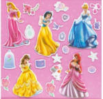 3D-Sticker Prinzessin