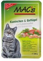 Katzen - MAC's Kaninchen und Geflügel mit Löwenzahn